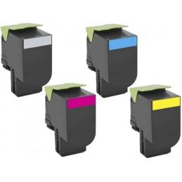 Magente Compatible Lexmark C2132,XC2130,XC2132-3K